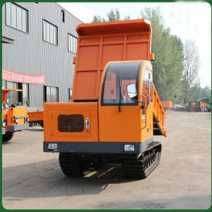Cheap All Terrain Crawler Transport 5T Track Dump Trucks for sale