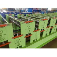 Quality Automatic Hydraulic cutting Roof And Wall Panel Steel Sheet Roll Forming Machine wholesale