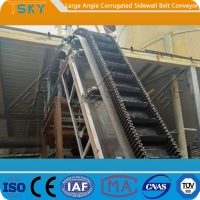 Cheap Large Conveying Capacity 500mm Rubber Belt Conveyor for sale