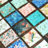 Cheap 1.8mm Width 680g/m Flower Patterned Fabric SGS For Booth Seating for sale