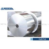Quality Thermal Stability CuNi44 Copper Nickel Alloy Foils FOR marine equipment wholesale