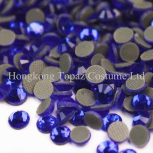 Cheap Crystal stone glass stone dmc hot fix Rhinestone for dresses for sale