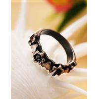 Cheap 2015 Fashion Korean Alloy Vintage Flower Rings for Women in Jewelry Factory Direct for sale