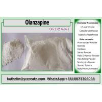Buy cheap Antipsychotic Raw Powder Olanzapine Used to control schizophrenia 132539-06-1 from wholesalers