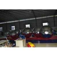 China Giant Glossy PVC Inflatable Advertising Balloons , Customized Mirror Balloons on sale