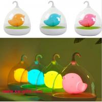 China Hand Held Dimmable Night Light Kids Gift Romantic Birdcage Touch Sensor Control Lamps LED on sale