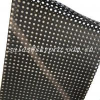Cheap Anti Slip Water Drain Holes Natural Gum Rubber Sheet For Swimming Pool for sale