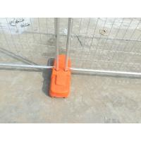 Cheap UV5 Surface Treatment Temp Fence Base with Concrete for sale