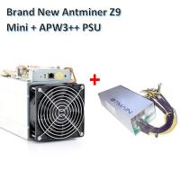 Cheap Bitcoin Mining Device Antminer Z9 mini 10kh/s ZCash miner with Power supply Asic Miner for sale