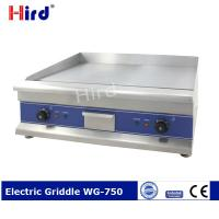 Buy cheap CE Best electric griddle Cast iron griddle for Hotel kitchen equipment WG-750 from wholesalers