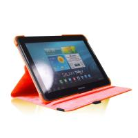 Cheap Samsung Galaxy Tab 2 10.1 P5100/P5110/P5113 Rotating PU Leather Case Cover for sale
