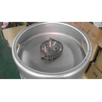 Buy cheap Unbreakable AISI 304 Stainless Steel Wine Kegs , 50 Litre Beer Keg For Grape from wholesalers