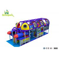 Cheap Professional Indoor Play Center Playground Custom Made For  3 - 15 Years Old for sale