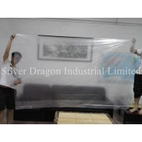 Cheap Large plastic bags, transparent, non printing, size 132cm x 275cm, produced by Silver Dragon Industrial Limited for sale