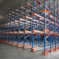 Cheap Warehouse Mobile Radio Shuttle Racking System Automation Material Handling for sale