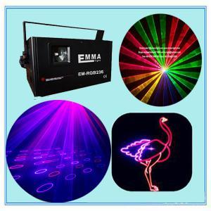 Cheap 1.2w Nightclub Lighting RGB Animation+fireworks Laser for sale