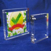 China High Transparent acrylic sign holder on sale