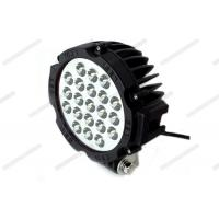 Cheap 63W LED Off Road Driving Lights 7 Inch Yellow / Red / Black Color With Screws for sale