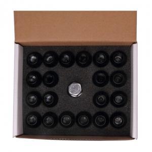 Cheap Hard Oxidation Racing Locking Wheel Nuts High Performance 35mm Black Wheel Nuts for sale