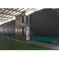Cheap Low E Insulating Glass Production Line Frequency Control With 6 Soft Hair Brushes for sale