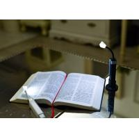 Cheap Portable Flexible Led Book Light / Travel Clip On Book Reading Lamp for sale