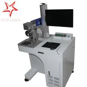 Fiber Laser Printing Machine For Led Lamp Cup, Laser Printing Machine