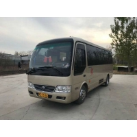 Cheap Yutong 19 Seats 2015 Year Coaster Used Passenger Bus for sale