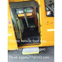 Cheap Electric sliding bus foot step for minibus,school bus and commercial vehicle(EBS100) for sale