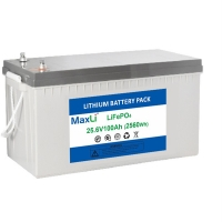 Cheap MSDS ABS 100Ah 24V Cylindrical Rechargeable Lithium Ion Battery for sale