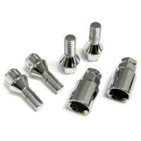 Cheap Shockproof Alloy Locking Wheel Bolts 31 Mm Thread Length Tapered Key for sale