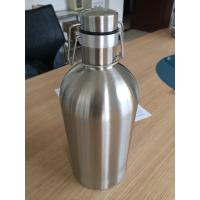 Cheap Custom 2L Mini Beer Growler With Ss304 Thermol Insulation 64OZ for sale