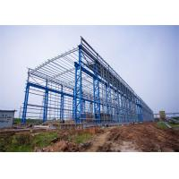 Cheap Portal Frame Prefabricated Steel Structure Warehouse Fabrication Engineer Design for sale