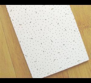 Cheap Low Density-White Mineral Fiber Ceiling Tile for sale