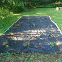 Cheap weed barrier menards Landscape Fabric Suppresses Weed Growth for sale