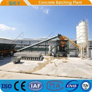Cheap Civil Construction Precast 180m3 Concrete Batch Mix Plant for sale
