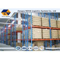 Cheap High Capacity Storage Pallet Warehouse Racking Metal Display With Frame Barrier for sale