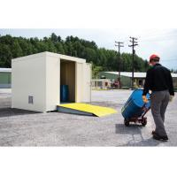 Outdoor Industrial Hazardous Chemical Storage Containers White Color For Oil Drum