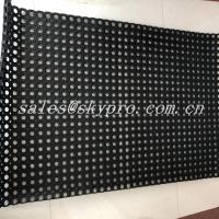 Cheap Black Hole Type Hydrophobic Rubber Mats For Kitchen Workshop for sale