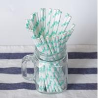 Cheap CE Certified Colored Paper Straws LFGB Whiskey Beverage Disposable Paper Tube for sale