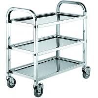 Cheap Restaurant Mobile Bakery Rack Trolley With SS Hot Pot Cart Or Dining Cart for sale