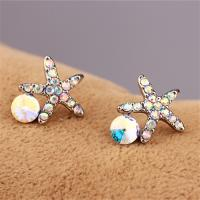 Cheap Fashion Accessories OEM ODM China Manufacturer PayPal Accepted Stud Earrings Vintage Earrings Star Pendant Earrings for sale