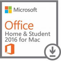 Cheap Personal MS Office License For Mac , Home And Student Office2016 Mac 1 User for sale