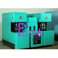 Beverage Semi Automatic Bottle Blowing Machine For 500ml Bottles , 2 Heater Manufactures