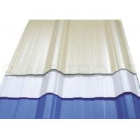 Durable 3 - Layer PVC Foam Plastic Roof Panels , Industrial Roofing Sheet