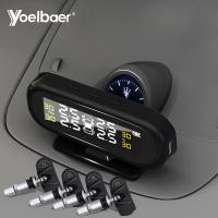 Cheap Factory Directly Sell Car TPMS USB Solar Power Tyre Pressure Monitoring System for sale