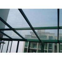 Cheap Edge Polished Clear Laminated Safety Glass For Construction Glass Sample Available for sale