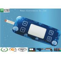 Cheap Standard Membrane Keypad Touch Sensitive Switch With Acrylic / PC / Glass Overlay for sale