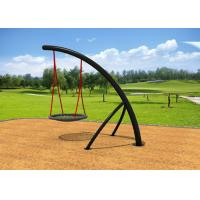 Cheap Half Piece Style Childrens Swing Set Solid Support For Community Parks KP-G002 for sale