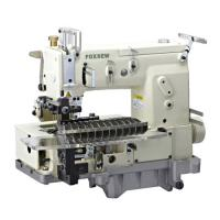Cheap 12-needle Flat-bed Double Chain Stitch Sewing Machine (tuck fabric seaming) FX1412PTV for sale