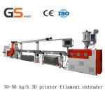 Cheap 30 50 Kg / H 3D Printer Filament Extruder / Extrusion Line , ABS Pla Filament Extruder for sale